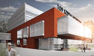 Rozbudowa 109 Szpitala Wojskowego wSzczecinie