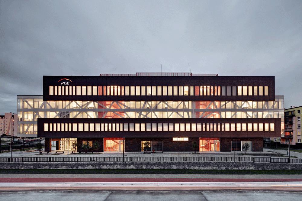 PGE GIEK concern headquarters in Bełchatów
