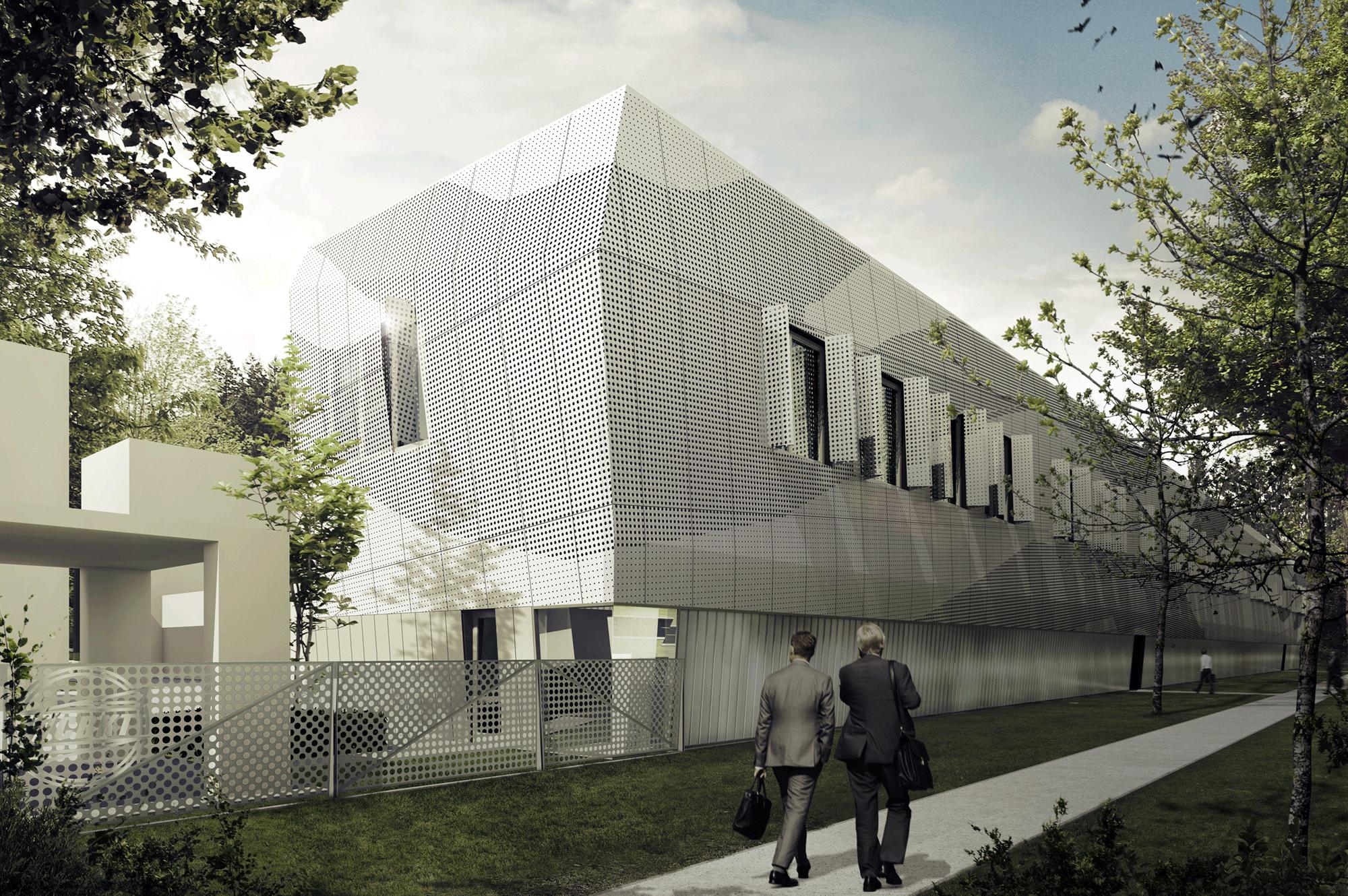 Conversion of WCBKiT workshop-storage building in Warsaw