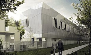Przebudowa budynku magazynowo-warsztatowego WCBKiT wWarszawie