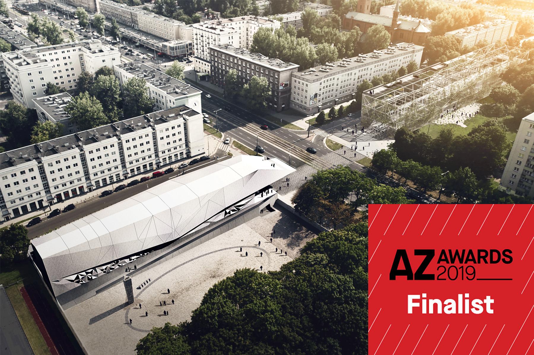 "Muzeum Więzienia Pawiak wfinale ""2019 AZ Awards for Design Excellence"""