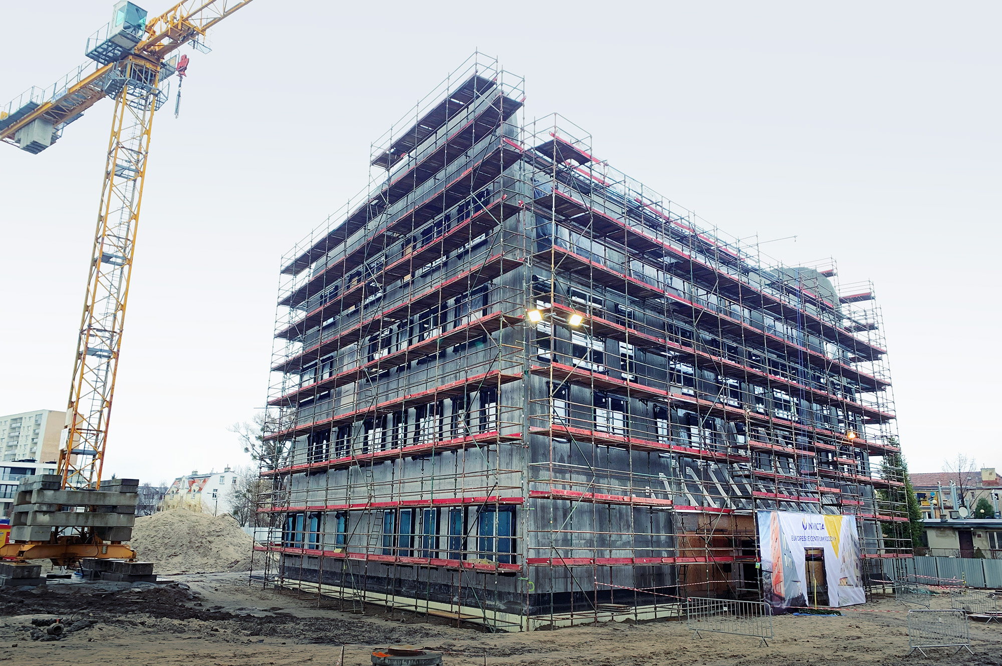 "On the 31st of January, a ""topping out ceremony"" took place at the B1 building of the European Family Center"