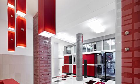 przebudowa budynku istniejącego napotrzeby urzędu centralnego, ministerstwa | nowogrodzka, warszawa